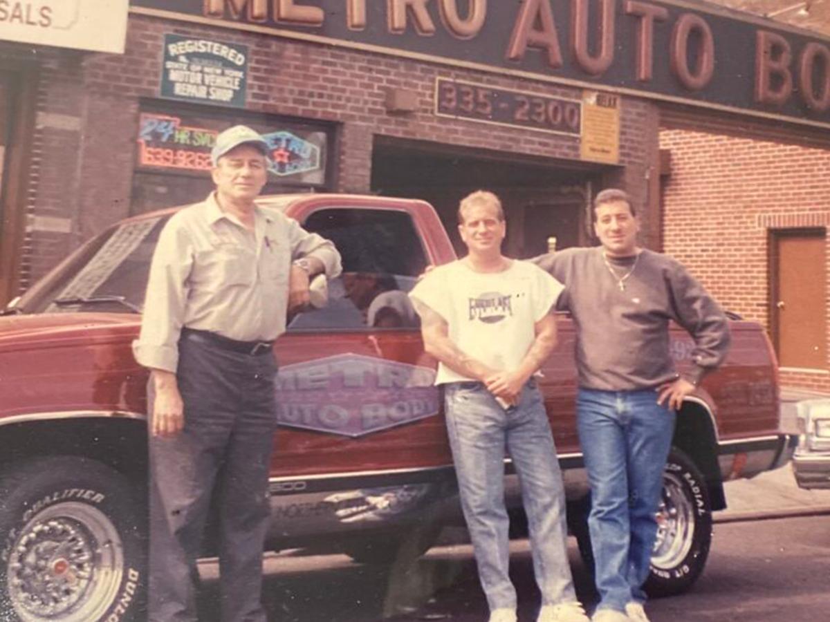 Metro Auto Body History